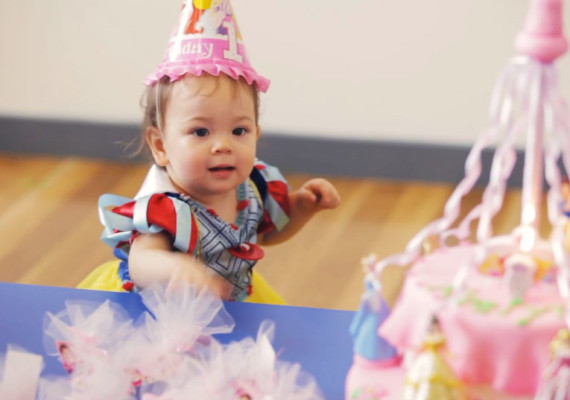 Kaelynn's 1st Birthday